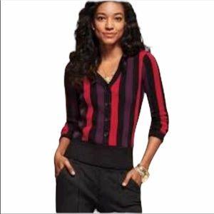 Cabi Royal Pullover Striped Sweater Size Medium